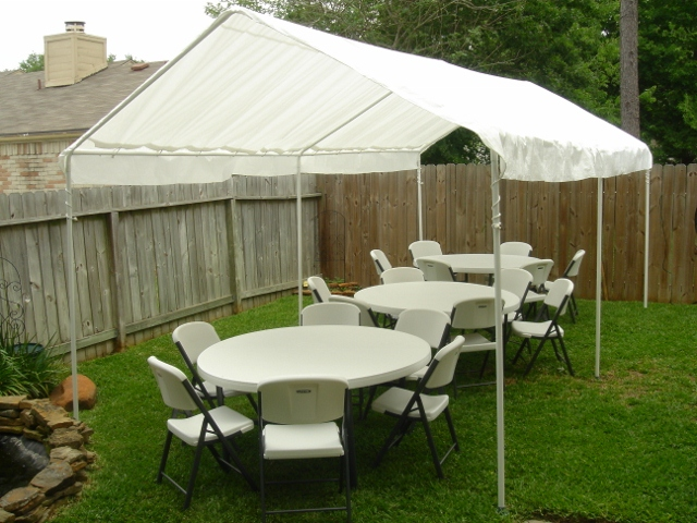 10 X 20 Party Tent / Canopy For $60.00 Click To Enlarge