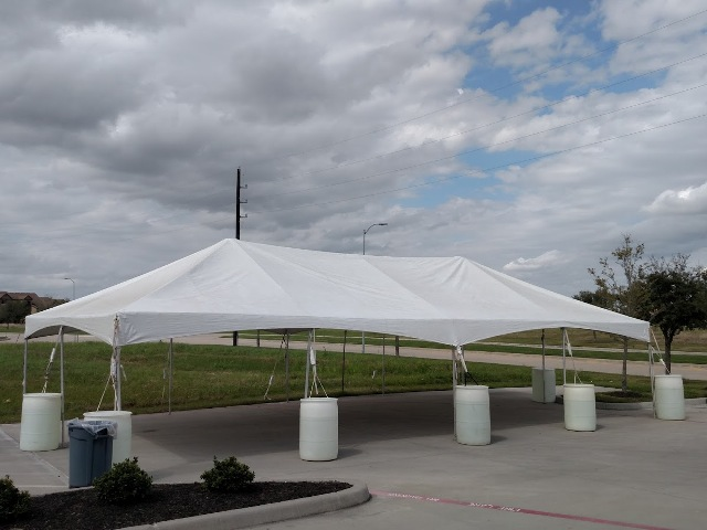 Two 20' x 40' Frame Party Tent $490.00