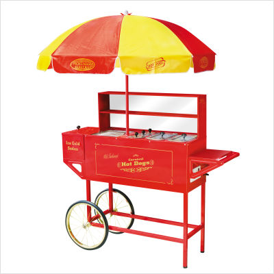 Hot Dog Cart.