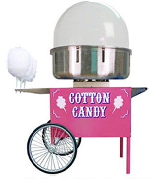 High Production Cotton Candy Machine.